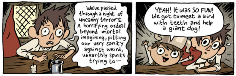 Jim Campbell, BOOM! Studios, 2016, Over the Garden Wall #6