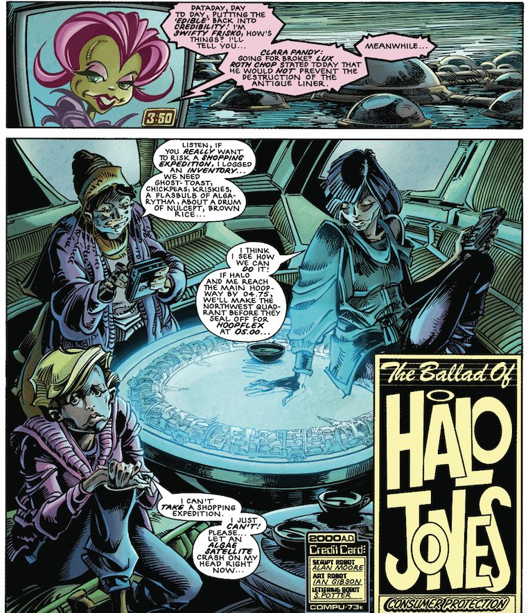 The Ballad of Halo Jones, Rebellion, Alan Moore, Ian Gibson, Barbara Nosenzo