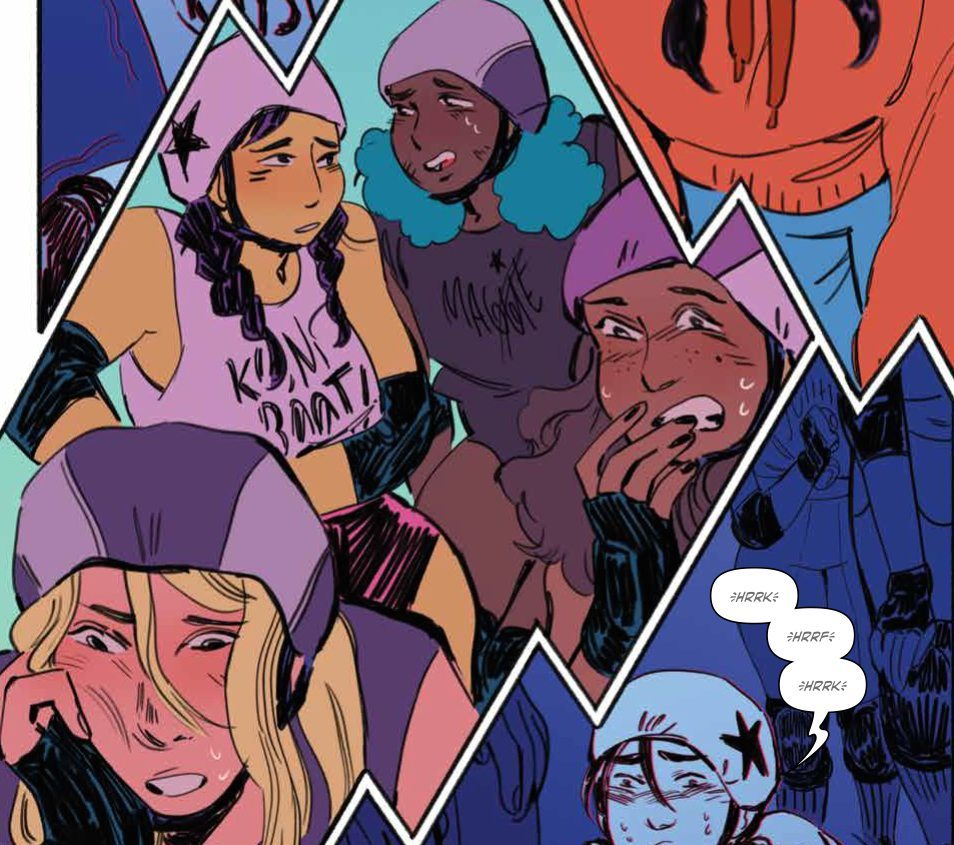 Slam!TheNextJam #3, created by Pamela Ribon & Veronica Fish, issue by Ribon, Marina Julia, Brittany Peer & Jim Campbell