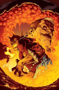 The Demon: Hell Is Earth #1 - Andrew Constant (Writer), Brad Walker (Penciller), Andrew Hennessy (Inker), Chris Sotomayor (Colorist), Tom Napolitano (Letterer), Brad Walker, Andrew Hennessy and Lee Loughridge (Cover) - DC Comics - November 2017