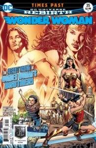 Wonder Woman #35 - James Robinson (Writer), Emanuela Lupacchino (Penciller), Ray McCarthy (Inker), Romulo Fajardo Jr. (Colorist), Saida Temoforte (Letterer), Bryan Hitch and Alex Sinclair (Cover) - DC Comics - November 2017