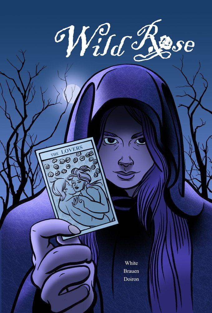 Art for the Wild Rose Comic on Kickstarter