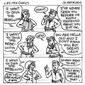 Les Mis Comics, Maritsa Patrinos, 2017