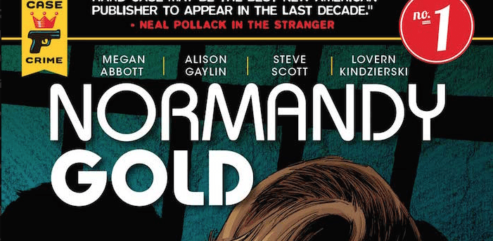 Normandy Gold title logo, published by Titan Comics