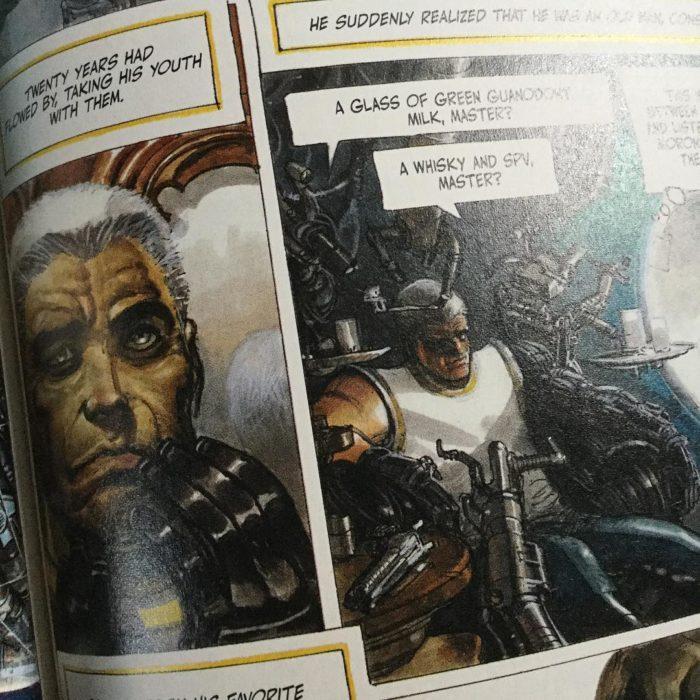 The Metabarons volume 2, Aghnar & Oda, Humanoids/DC COmics, Jodorowsky & Gimenez