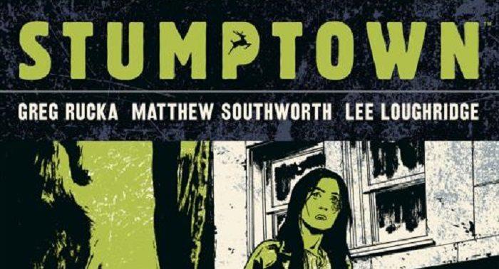 Stumptown, vol. 1, Greg Rucka (script), Matthew Southworth (pencils), Lee Loughridge (colours) Oni Press, 2010, cover issue #1