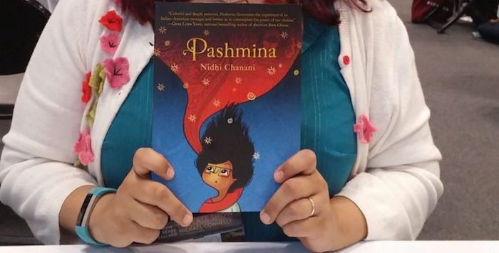 Pashmina, held by author Nidhi Chanani