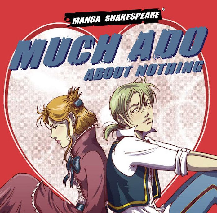 Manga Shakespeare, Much Ado About nothing cover, Emma Vieceli & William Shakespeare, SelfMadeHero