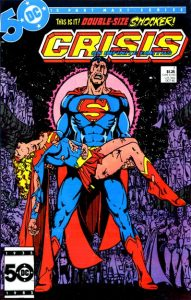 Crisis on Infinite Earths #7 - DC Comics - 1985 - Marv Wolfman (Writer), George Perez (Penciler), Dick Giordano and Jerry Ordway (Inkers), Tom Ziuko (Colorist), John Costanza (Letterer)