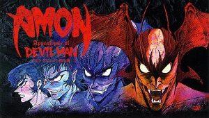 Amon: Apocalypse of Devilman. Kenichi Takeshita & Toyoo Ashida (direction), Ritsuko Hayasaka (writing), Takeshi Kobayashi & Mangahead (music), Yasushi Nirasawa (creature design), Shinji Takeda (Akira Fudo/Devilman), Atsuko Enomoto/Tomokazu Seki/Akio Ōtsuka/Kazuki Yao/Rie Tanaka (voice roles). Studio Live. May 2000.