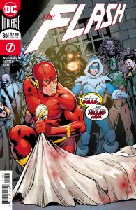 The Flash #36 - Joshua Williamson (Writer), Howard Porter (Artist), Hi-Fi (Colorist), Steve Wands (Letterer), Barry Kitson and Hi-Fi (Cover) - DC Comics - December 2017