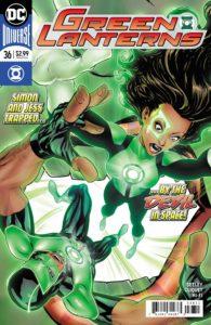 Green Lanterns #36 - Tim Seeley (Writer), Ronan Cliquet (Artist), Hi-Fi (Colorist), Dave Sharpe (Letterer), Mike McKone (Cover) - DC Comics - December 2017