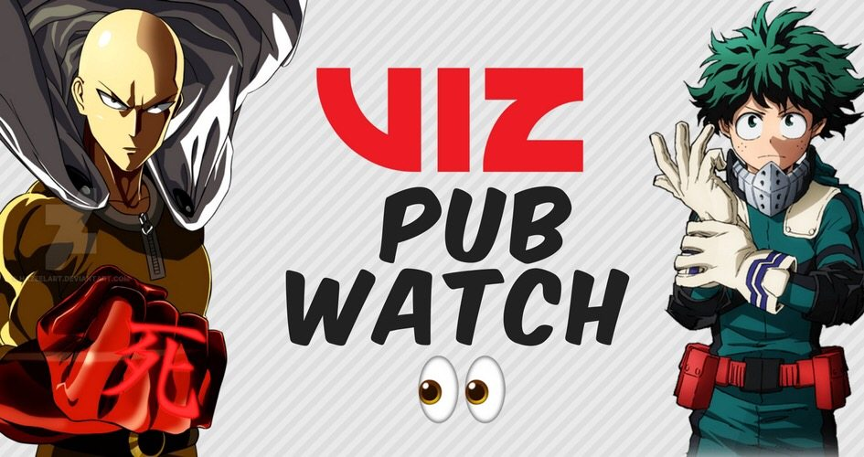 VIZWATCH: New Viz Manga in Early 2018