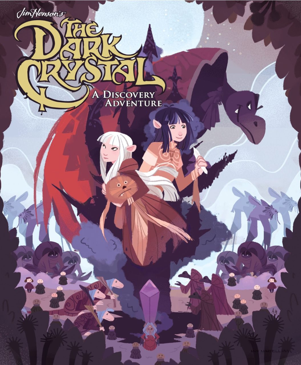 Ann Narcellino's Dark Crystal Discovery Adventure, Archaia, BOOM! Studios, 2018