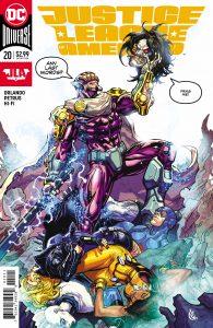 Justice League of America #20 - Steve Orlando (Writer), Hugo Petrus (Artist), Hi-Fi (Colorist), Clayton Cowles (Letterer), Carlos D'Anda (Cover) - DC Comics - December 2017