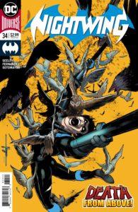 Nightwing #34 -Tim Seeley (Writer), Javier Fernandez (Artist), Chris Sotomayor (Colorist), Carlos M. Mangual (Letterer) - DC Comics - December 2017