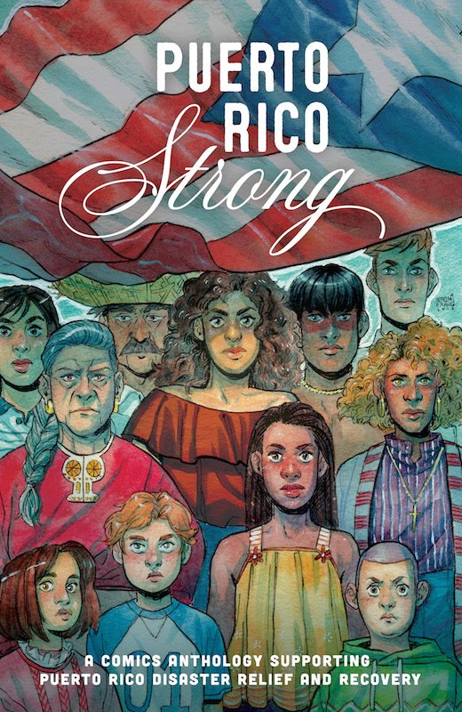 Naomi Franquiz, Puerto Rico Strong, Lion Forge