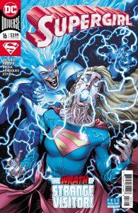 Supergirl #16 - Jody Houser and Steve Orlando (Writer), Robson Rocha (Penciller), Daniel Henriques (Inker), Michael Atiyeh (Colorist), Steve Wands (Letterer) - DC Comics - December 2017