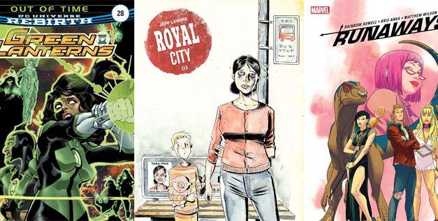 WWAC's Favorite Big Press Comics of 2017
