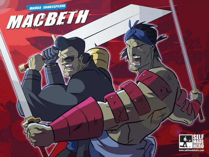 Manga Shakespeare, Macbeth cover, Robert Deas & William Shakespeare, SelfMadeHero