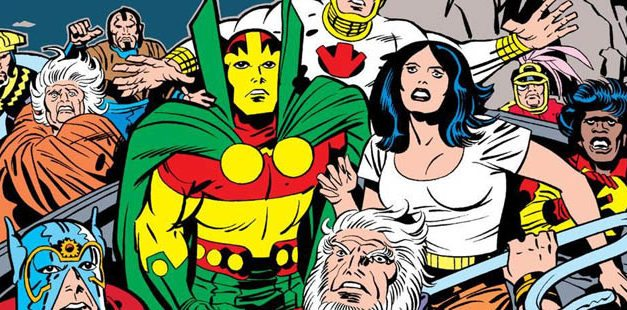 The Wedding Issue: Big Barda and Scott Free