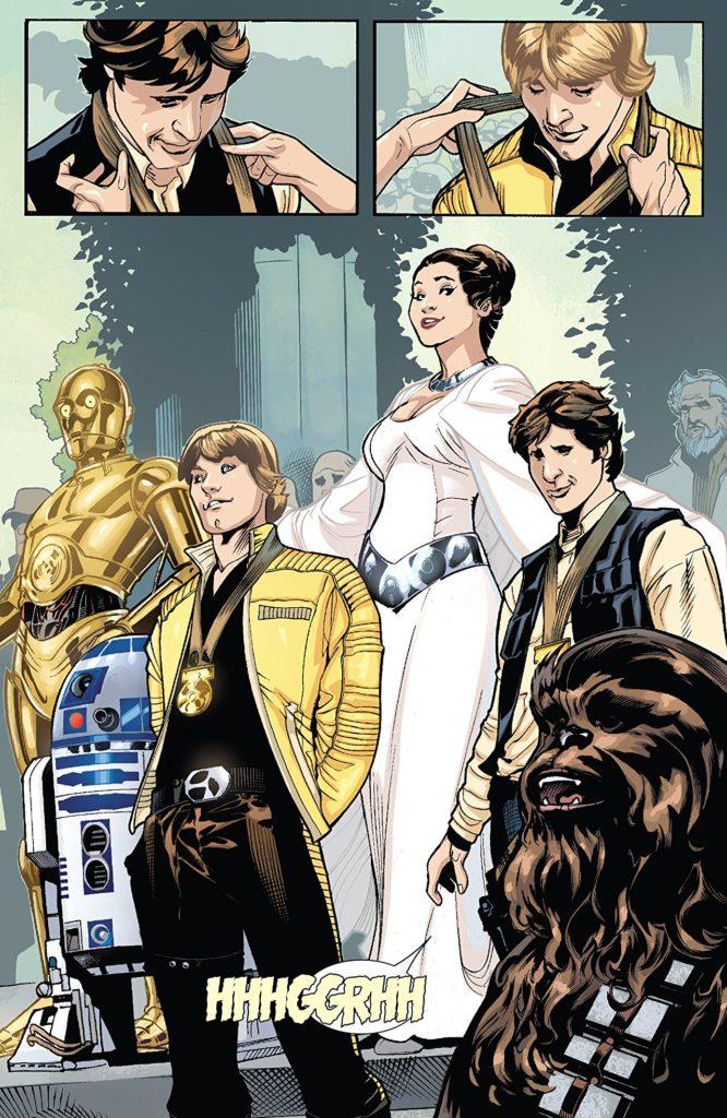 Princess Leia, Marvel 2015, Script: Mark Waid, Penicils and Cover Terry Dodson