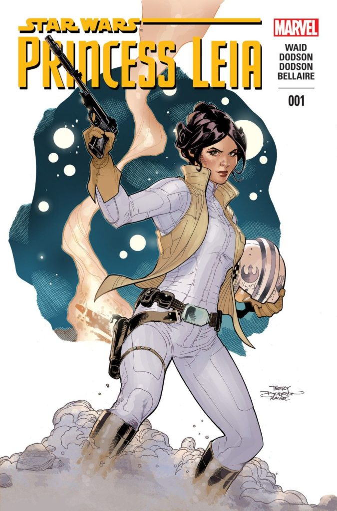 Princess Leia, Marvel 2015, Script: Mark Waid, Penicils and Cover Terry Dodson