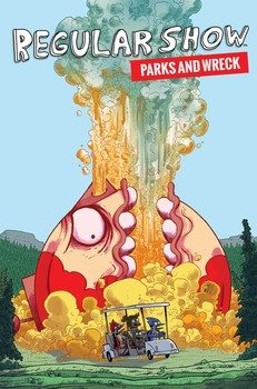 Regular Show Parks and Wreck Cover
