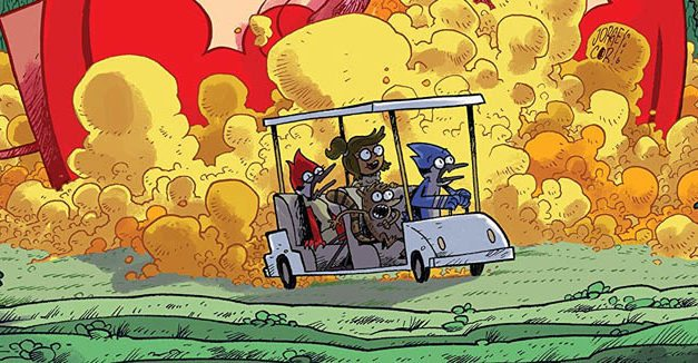 Regular Show: Parks and Wreck is a Wild Ride