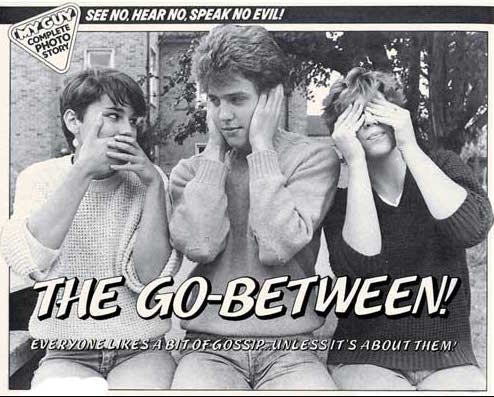 The Go-Between, My Guy, Robson Books/Perfectly Formed Publishing, reprinted in The Best of My Guy, starring Hugh Grant
