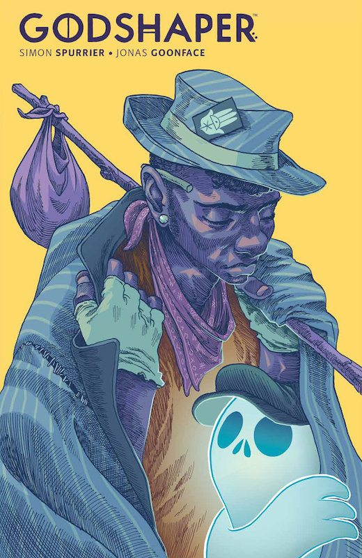 Godshaper SC Publisher: BOOM! Studios Writer: Simon Spurrier Artist: Jonas Goonface Letterer: Colin Bell Cover Artist: Jonas Goonface