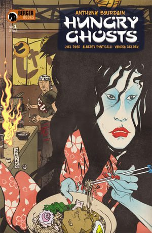 Hungry Ghosts 1 Cover via Dark Horse