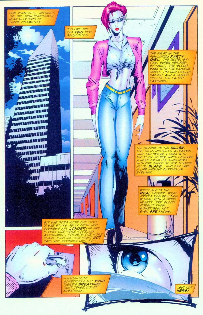 Vogue #1, Extreme Studios, Image, 1993, Rob Liefeld