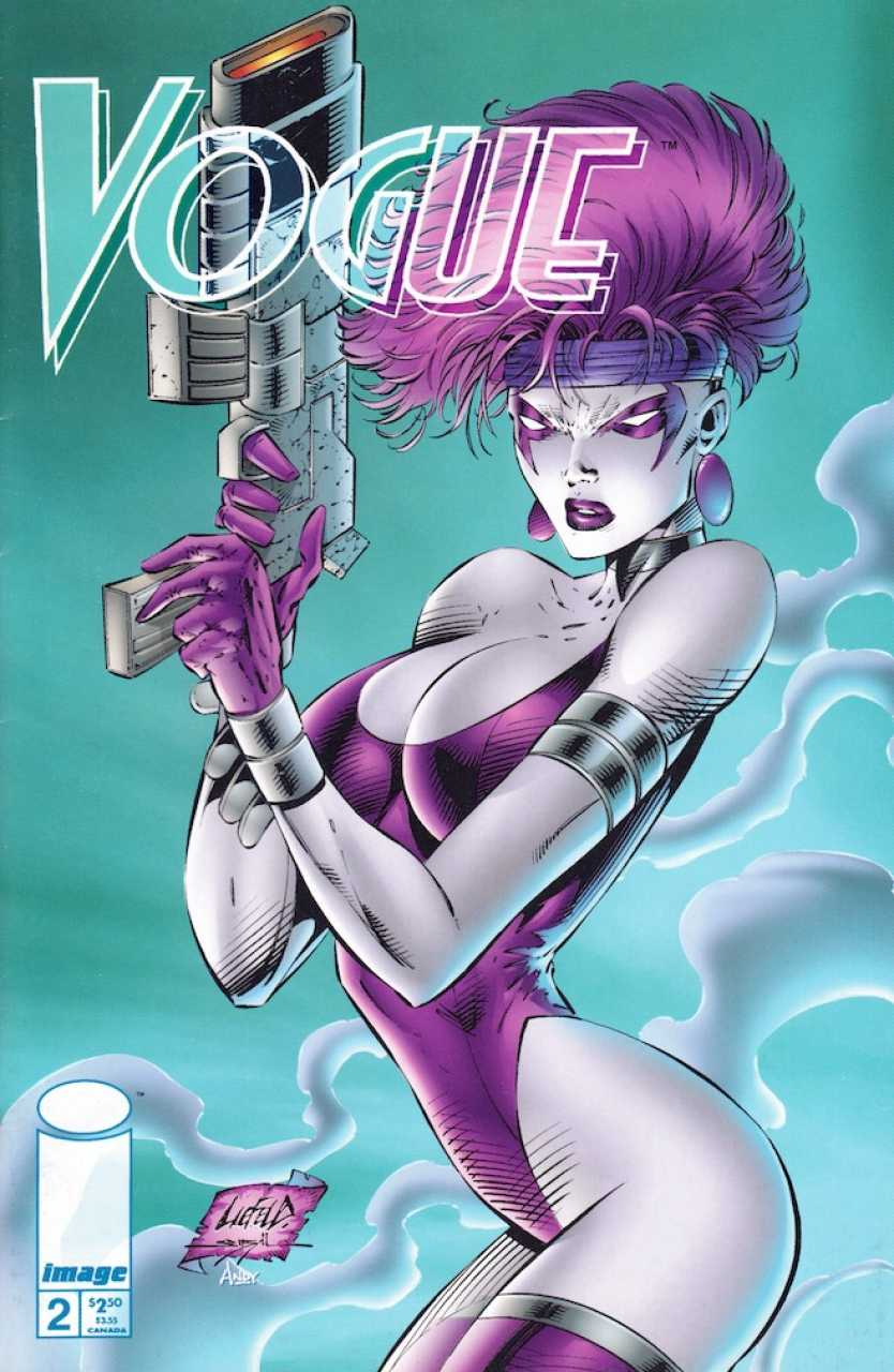 Vogue #2, Extreme Studios, Image, 1993, Rob Liefeld