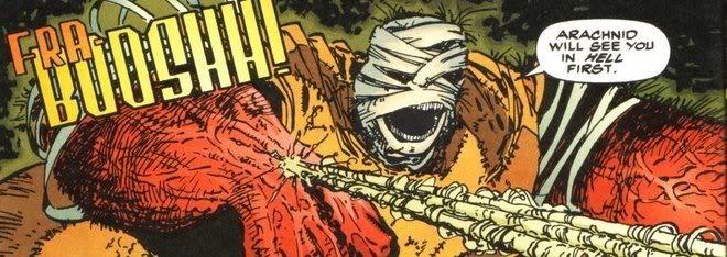 Savage Dragon #2, Erik Larsen, Image via Malibu, 1992