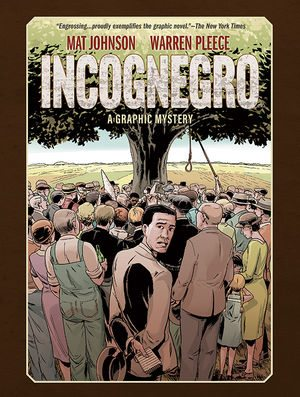 10th Anniversary Cover for Incognegro Graphic Novel