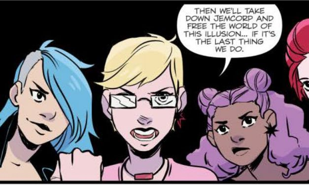 Jem and the Holograms – Infinite: Colourful Caper through Parallel Worlds