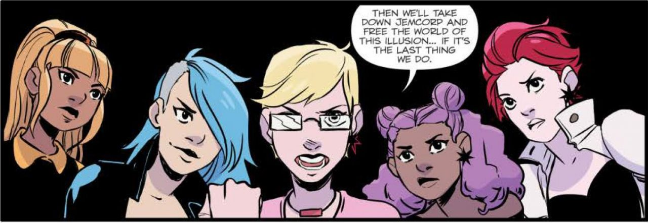 Jem and the Holograms: Infinite Vol 1-5 Page 15 panel