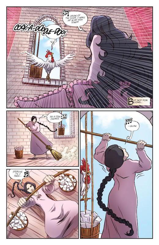 Ladycastle #1 (of 4) Publisher: BOOM! Studios Writer: Delilah S. Dawson Artist: Ashley A. Woods