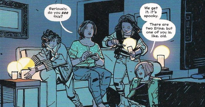 Paper Girls: Women Rallying Against Imperial Horror