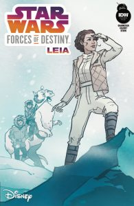 Forces of Destiny Leia Cover RI-B
