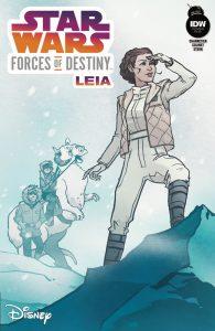 Forces of Destiny Leia Cover RI-B