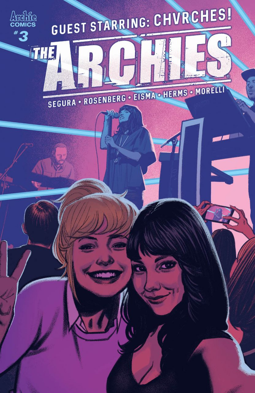 "The Archies #3: Chvches Help Archie ""Bury It"""