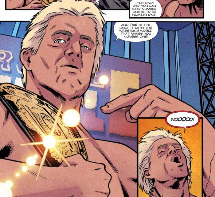 WWE Royal Rumble 2018 Special #1 Publisher: BOOM! Studios Writers: Ryan Ferrier, Michael Kingston, AJ Styles, Kevin Panetta Artists: Kendall Goode, Daniel Bayliss, Kelly Williams Cover Artists: Main Cover: Xermánico Variant Cover: Juan Doe