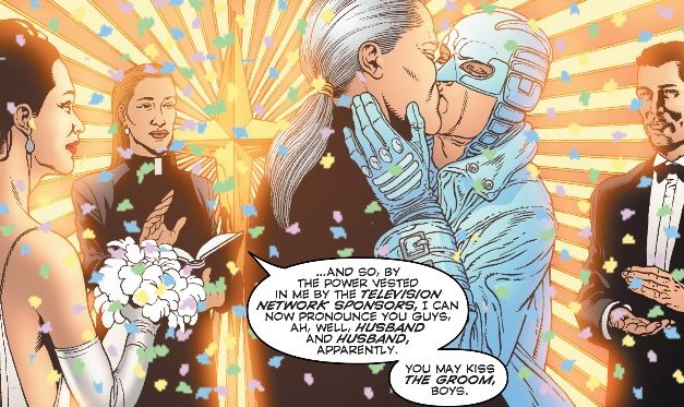 The Wedding Issue: Apollo and Midnighter