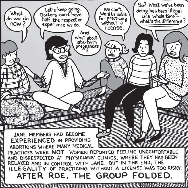 Rachel Wilson and Ally Shweb, Comics for Choice, 2017