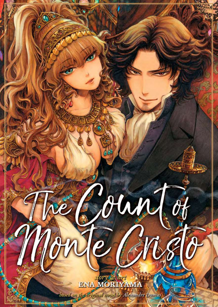 Cover of The Count of Monte Cristo by Ena Moriyama. Translated by Adrienne Beck and adapted by Shanti Whidesides. Published by Seven Seas Entertainment, 2017.