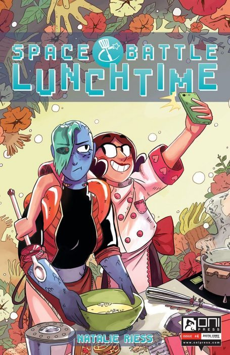 Space Battle Lunchtime, Natalie Riess, Oni Press