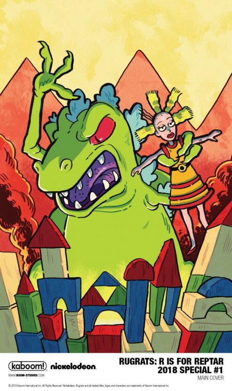 Rugrats: R Is For Reptar 2018 Special #1 main cover by Savanna Ganucheau