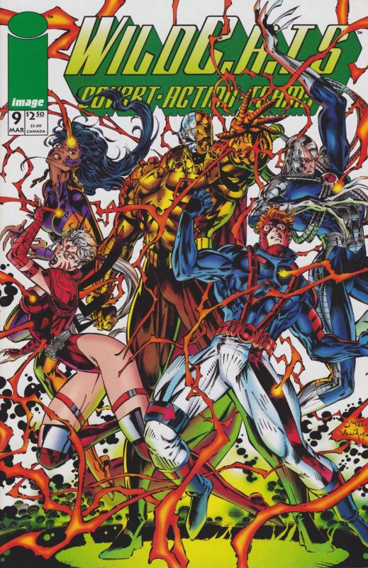 WildCATS, Jim Lee & Brandon Choi, Image Comics, 1993